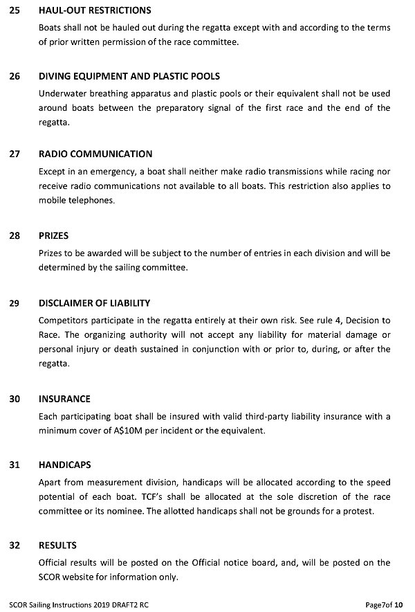 SCOR 2019_7 Sailing Instructions 13&14Ju