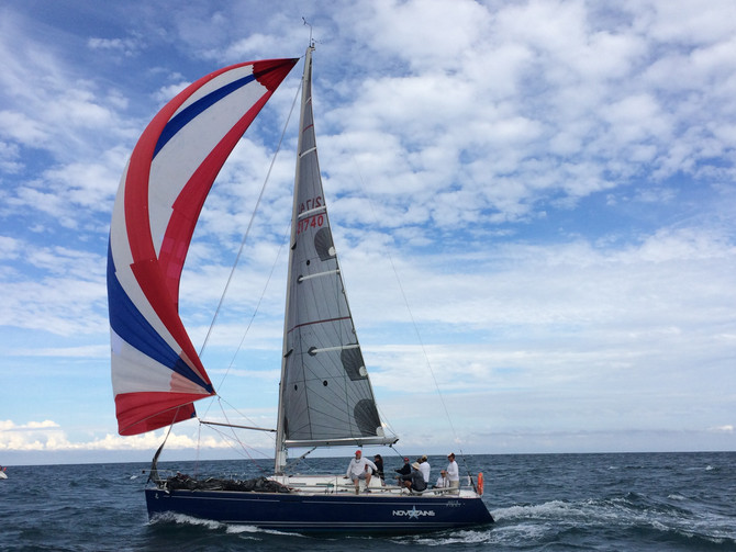 Will you get past this beautiful Beneteau First 40.7- Novocaine?