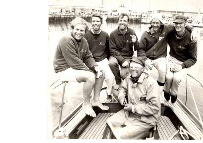 Ian Coward – a legend of the ocean inspires a new generation of yachties