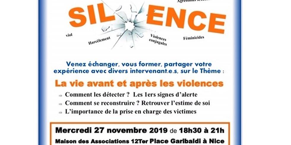 Conférence Ensemble brisons le silence avec AHHR