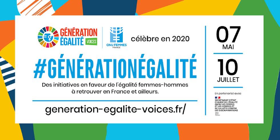 Festival GÉNÉRATION ÉGALITÉ  avec l'ONU Femmes France