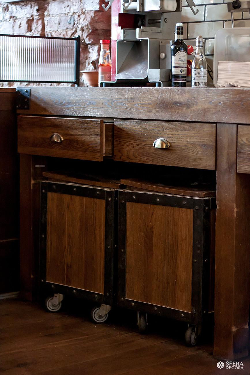 Мебель из металла в стиле лофт