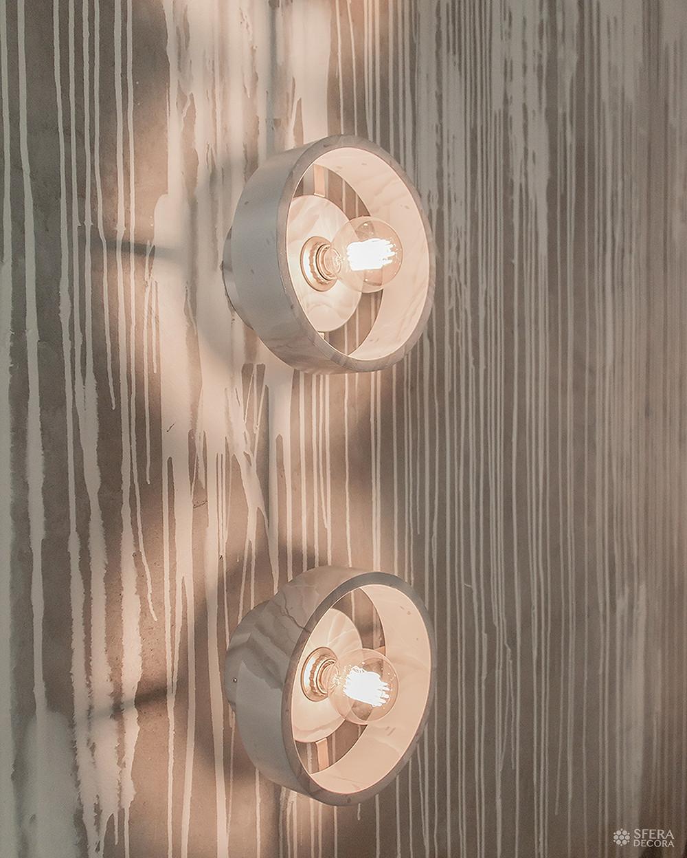 Светильник под камень