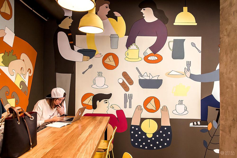 Ребрендинг кафе от Sfera Decora