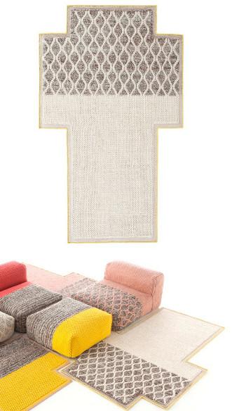 Текстильные аксессуары с орнаментом
