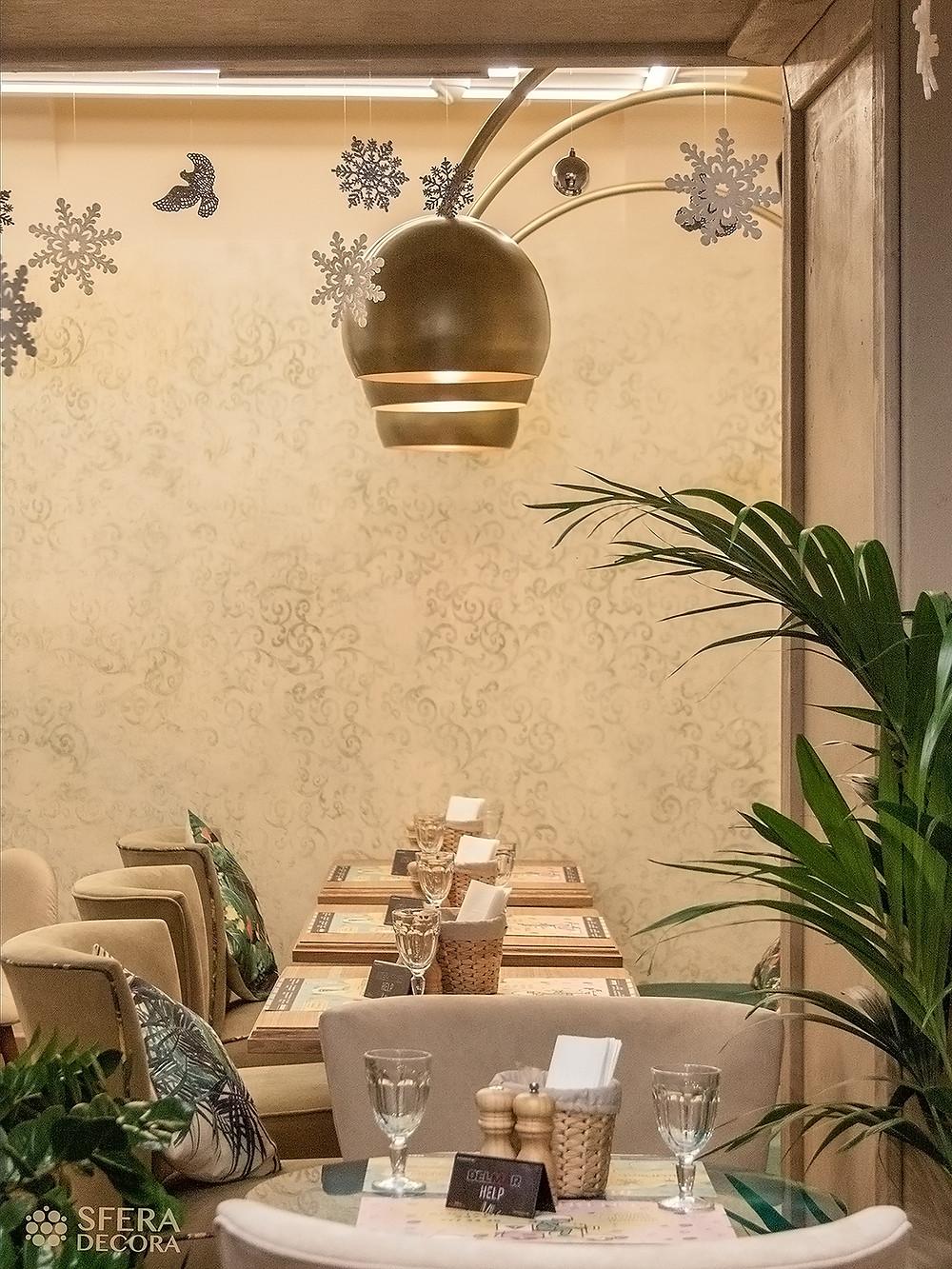 Светильники для ресторанов