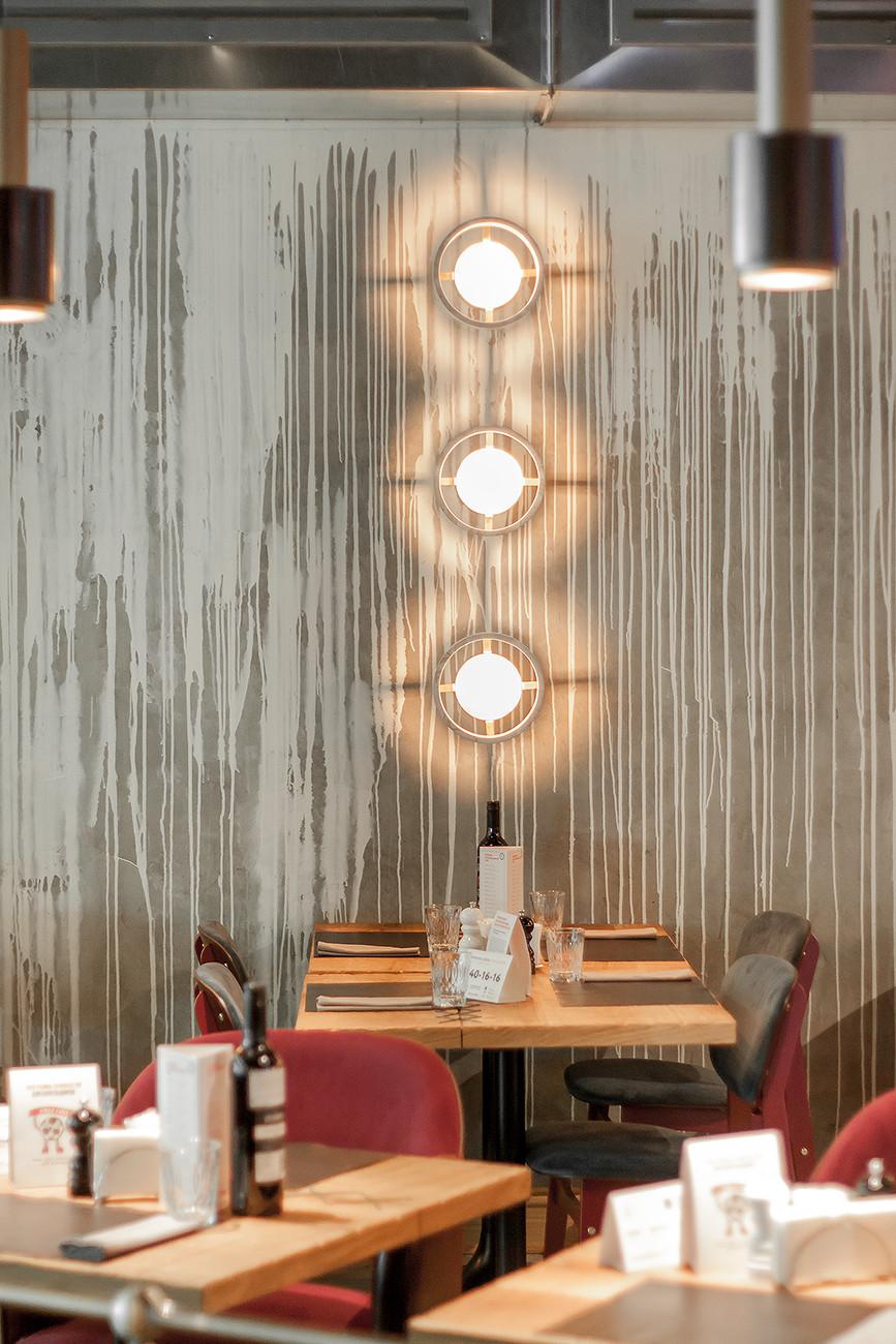 Штукатурка стен для ресторанов