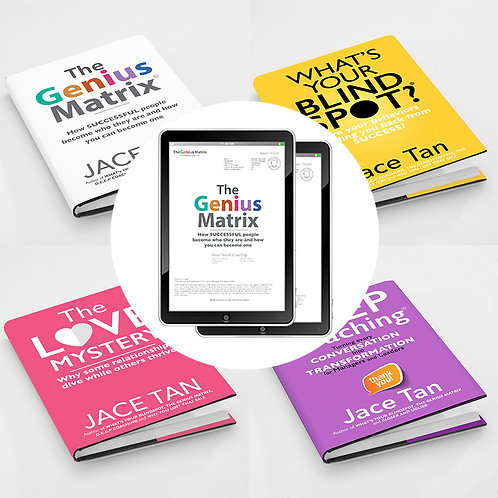Genius Package (4 e-books + 15 reports)