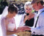 Jody Stevenson Officiates a CO wedding