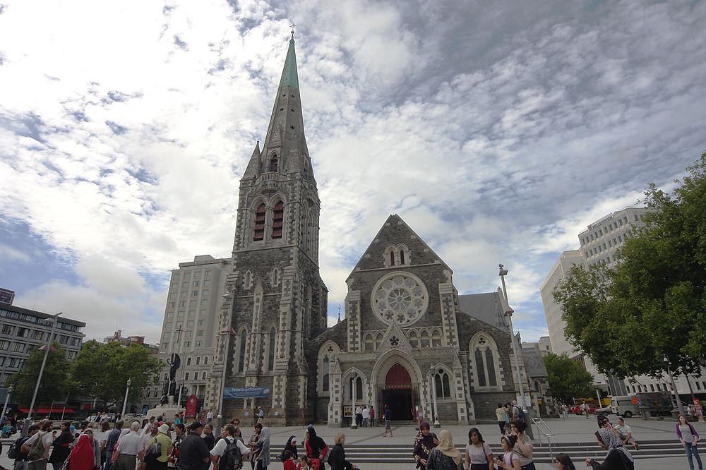 ChristChurch Cathedral, Christchurch la catedral que da nombre a la ciudad Neozelandesa donde sucedió el tragico atentado