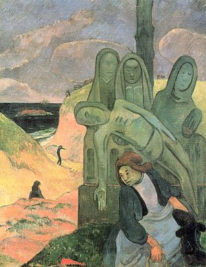 Le Christ vert-Paul Gauguin