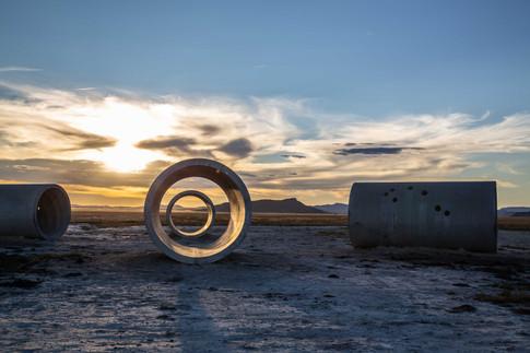 Sun Tunnels, Great Basin Desert, Utah