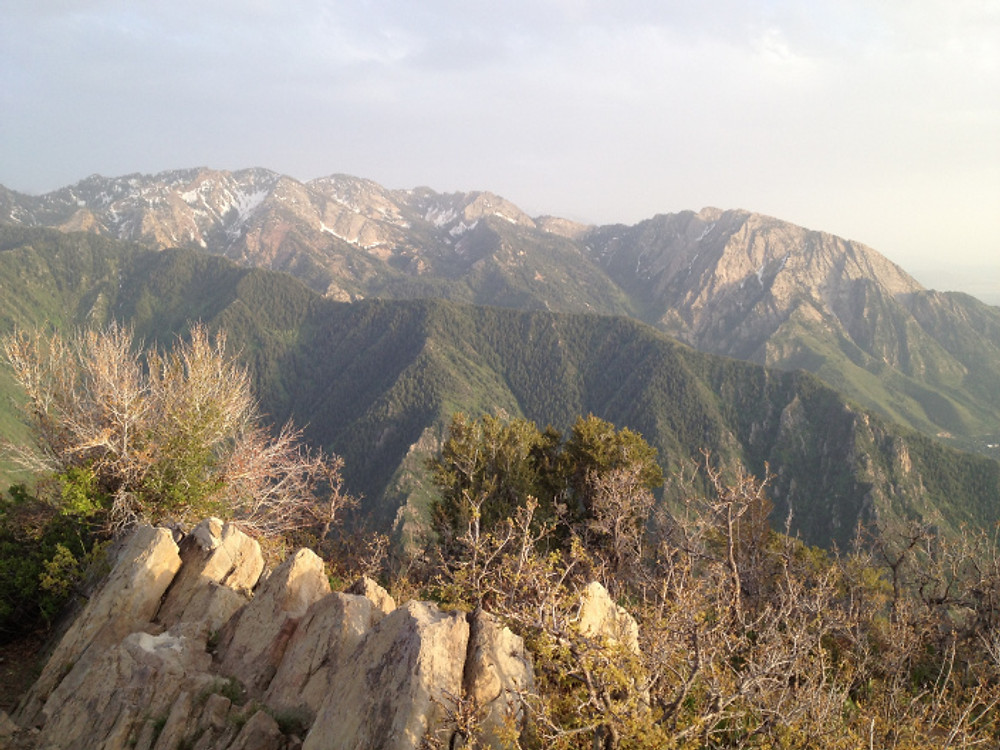 Grandeur Peak Summit Millcreek Canyon accessed from the ChurchFork trail head