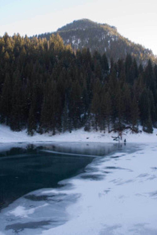 Open water at Tibble Fork Reservoir