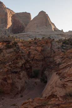 Grand Wash, Capitol Reef National Park