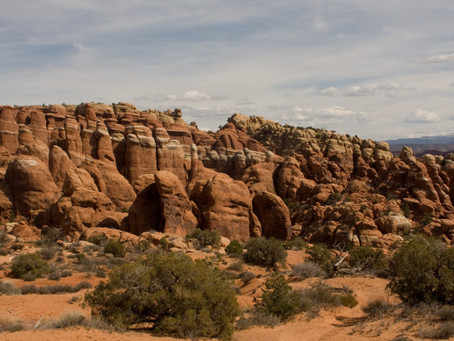 Get Lost in the Fiery Furnace – Arches National Park