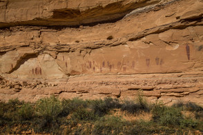 The Great Gallery of Horseshoe Canyon