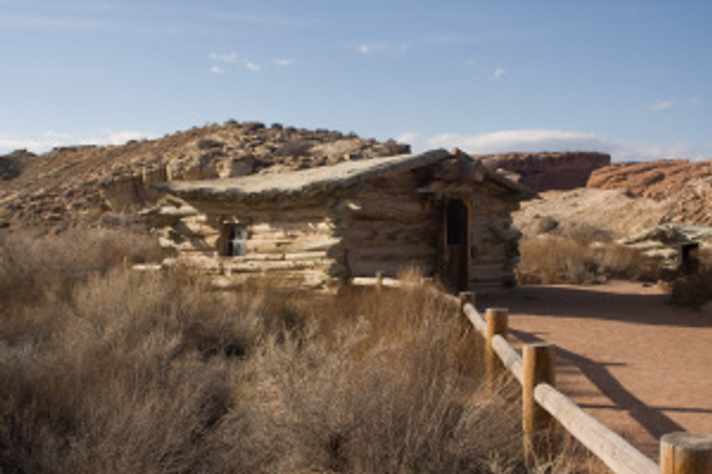 Cabin at Wolfe Ranch - Arches National Park near Moab Utah