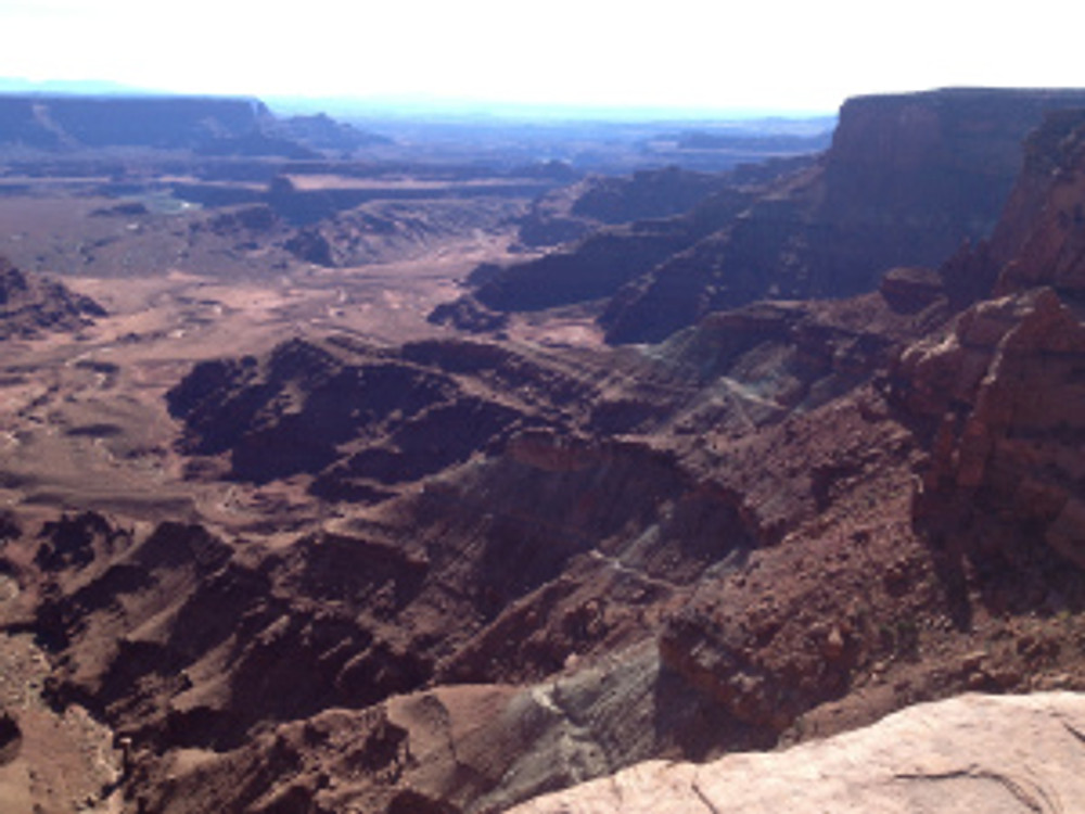 Dead Horse Point State Park near Moab Utah