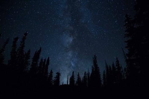 Milky Way Above Ruth Lake