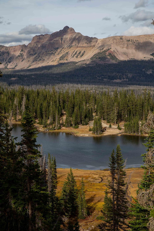 Mountain Lakes on the Mirror Lake Highway, Uinta Mountain Range, Utah