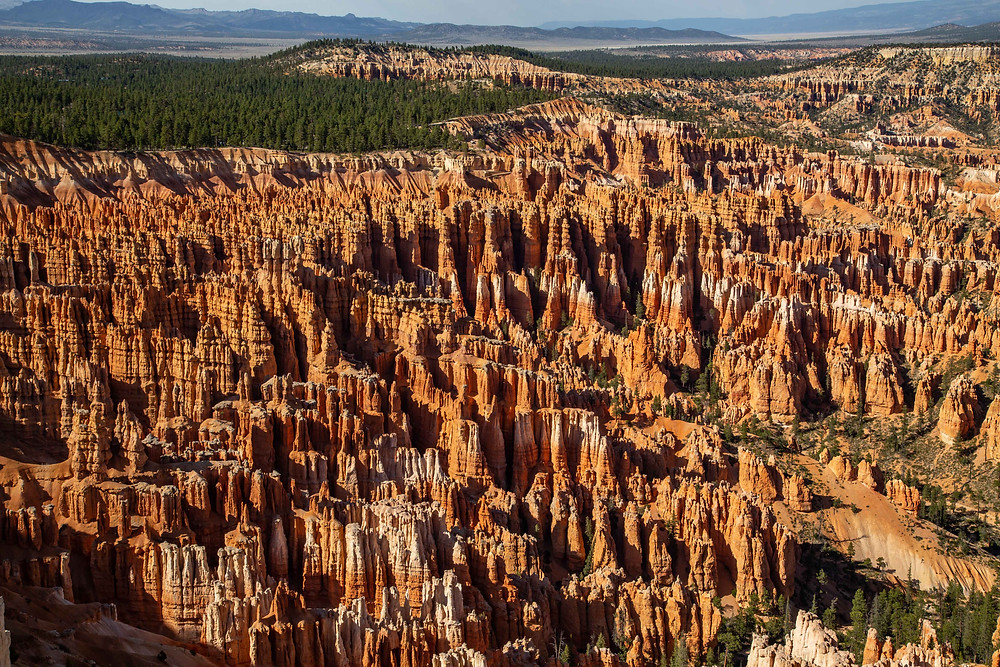 View from Inspiration Point in Bryce Canyon National Park, Utah