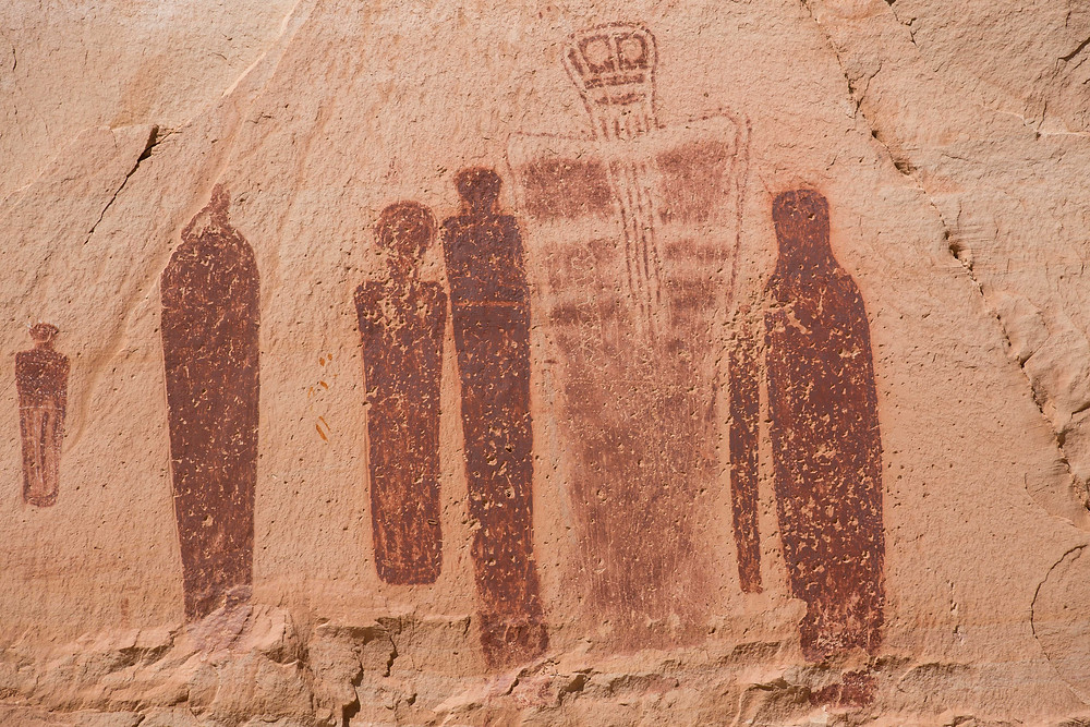 Holy Ghost Panel, Great Gallery, Canyonlands Utah