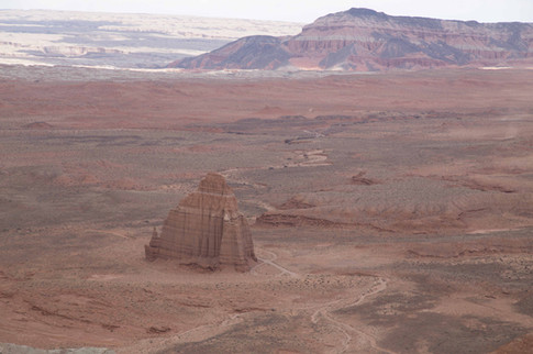 Temple of the Sun, Cathedral Valley, Capitol Reef National Park