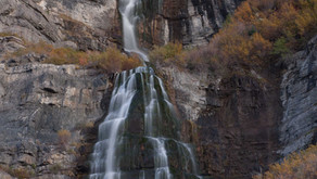 Bridal Veil Falls in Provo Canyon, A Recreation Mecca