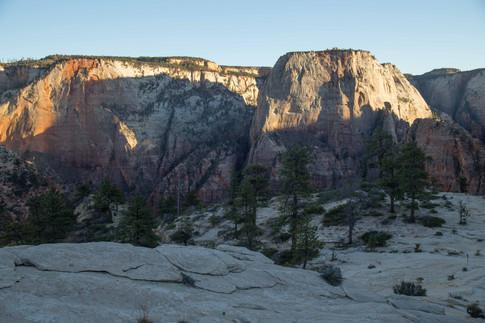 West Rim of Zion National Park