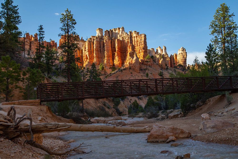 Mossy Cave Trail in Bryce Canyon National Park, Utah