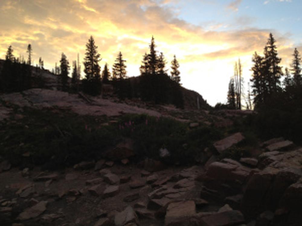 Secret Lake, Alta Utah