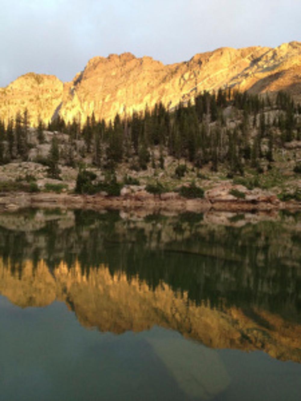Cecret Lake up Little Cottonwood Canyon