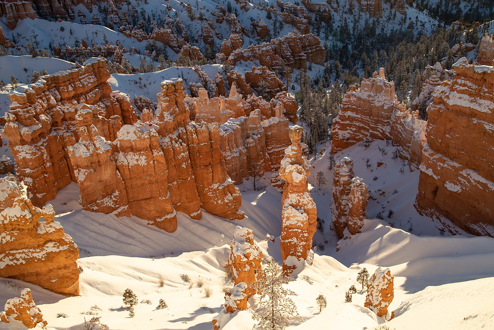 View of Thor's Hammer Formation from Sunset Point at Bryce Canyon National Park, Utah