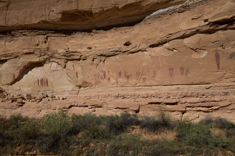 The Great Gallery, Horsehoe Canyon