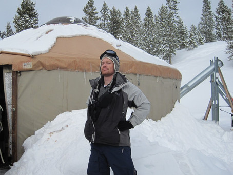 Happy New Yurt – The Only Way to Winter Camp