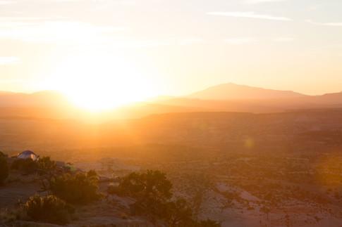 Sunrise over Escalante