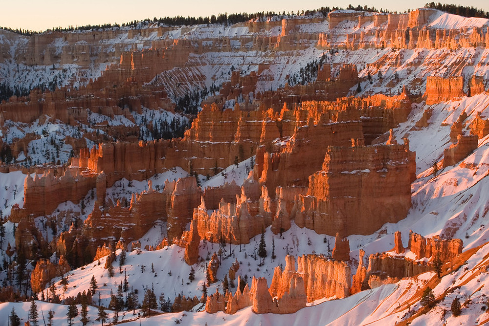 Winter Bryce Canyon National Park