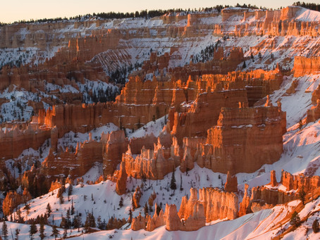 Bryce in Winter – Even more Beautiful, Even more Cold