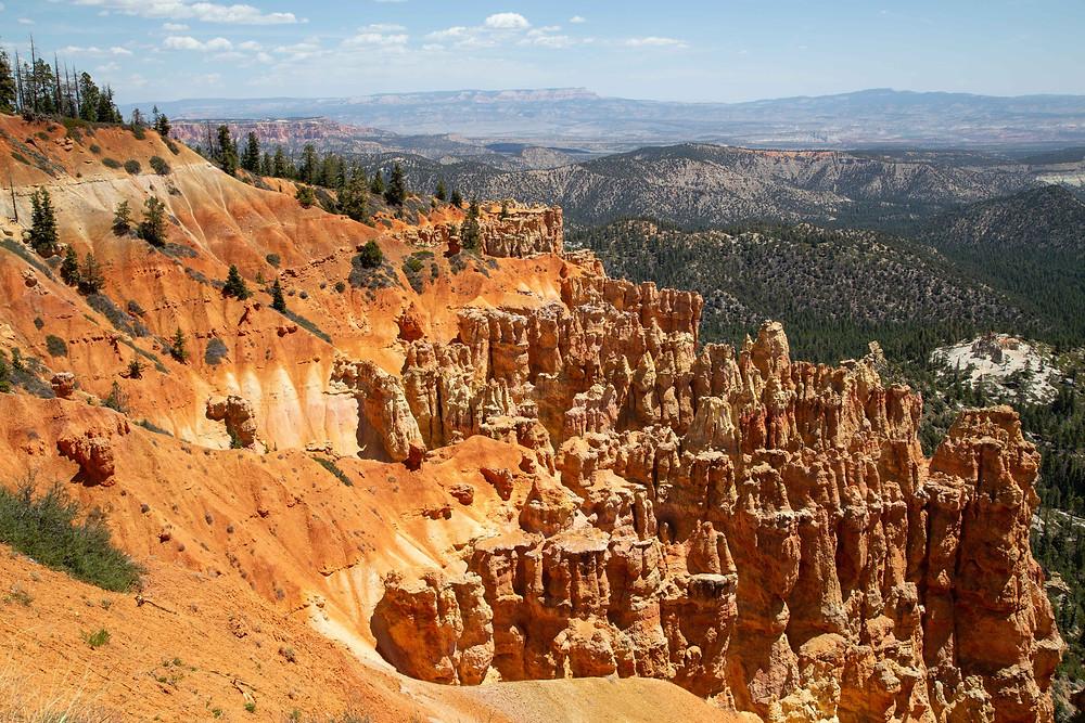 Ponderosa Canyon viewpoint, Bryce Canyon National Park, Utah