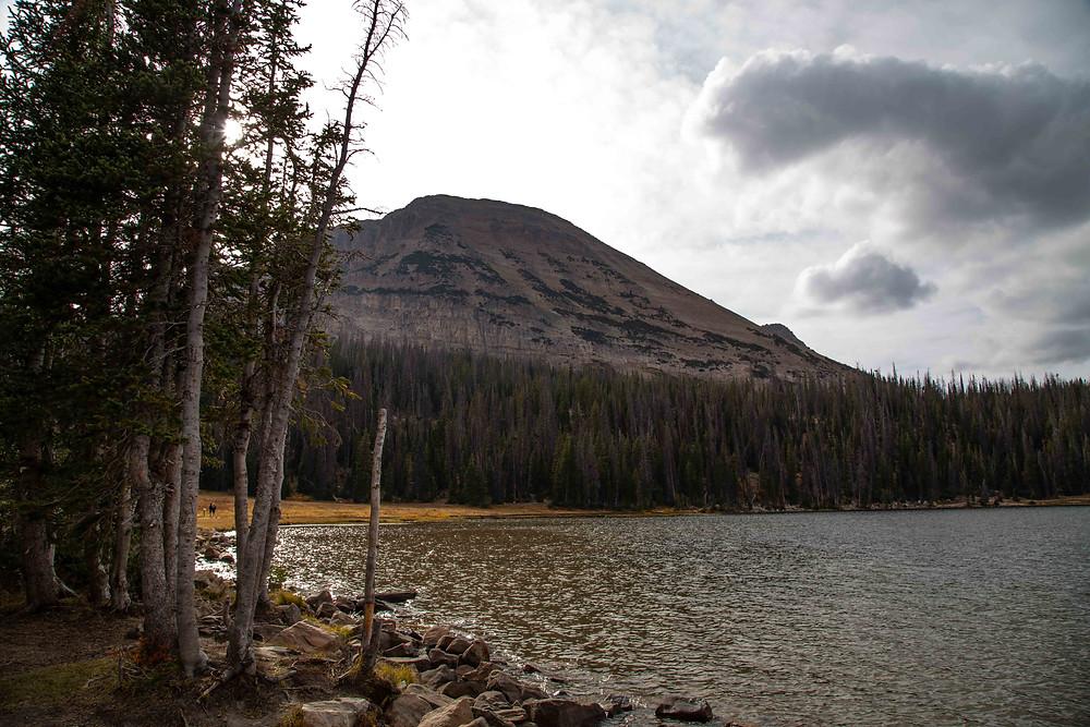 Mirror Lake in the Uintas in Utah