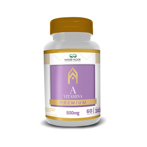 Vitamina A Premium 500mg 60cps