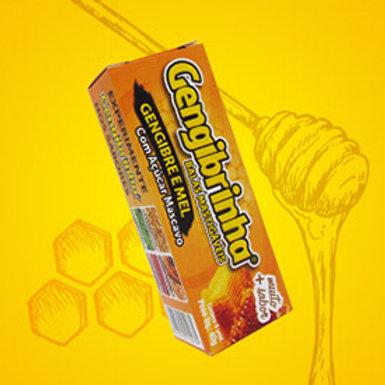 Bala de gengibre gengibrinha sabor mel