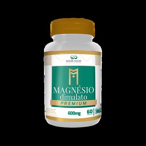 Magnésio Dimalato Premium 600mg 60cps