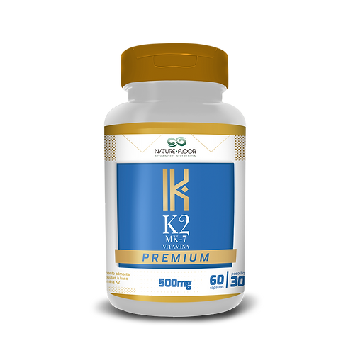 K2 MK7 Vitamina Premium 500mg 60cps