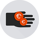 Hand with money - grey.png