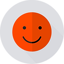 Smiley Face Orange - Grey.png