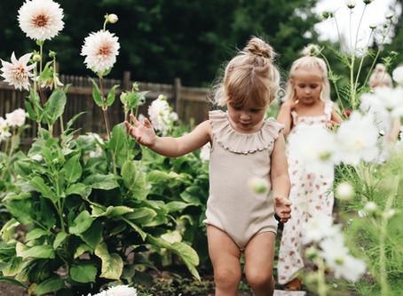 Vår egna blomsterodling