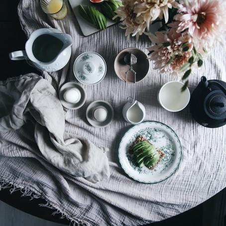Frukostmöte i mitt kök