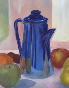 Jug and Fruits